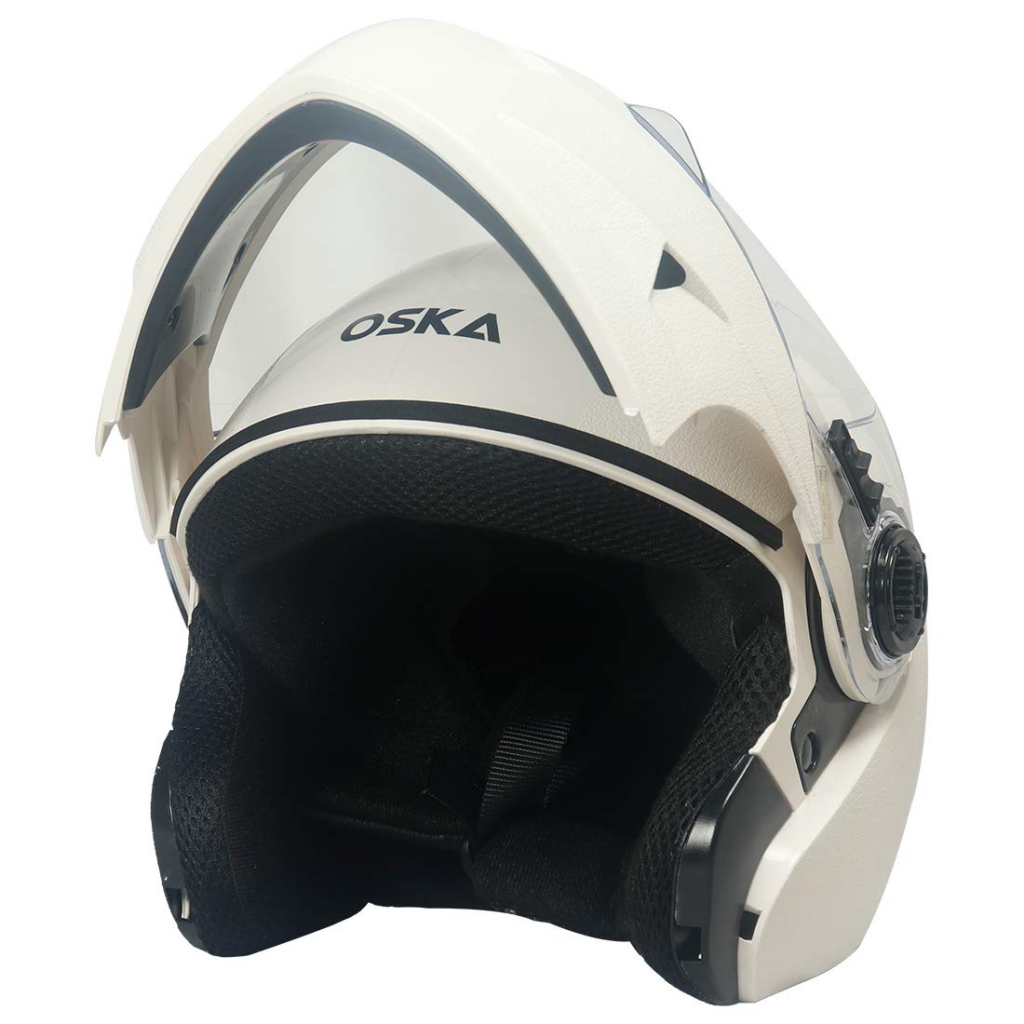Steelbird 7Wings Oska Flip Up Helmet Full Face Bike Riding Helmet