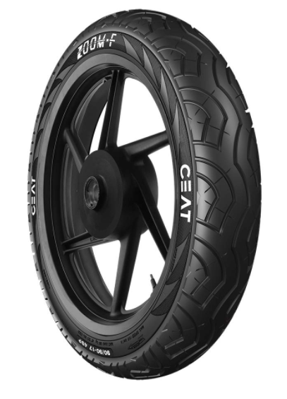 Ceat Zoom 100/90-17 55P Tubeless Bike Tyre