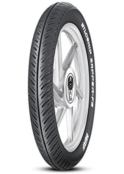 MRF Nylogrip Zapper-FS 2.75-17 41N Tube-Type Bike Tyre